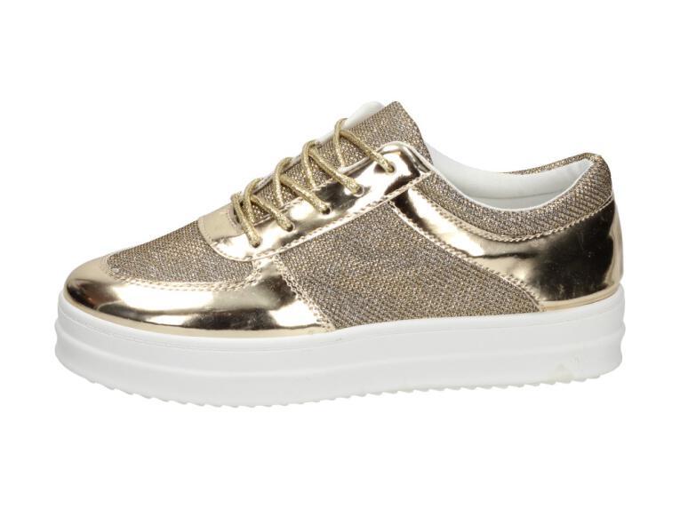 Złote sportowe buty damskie VICES 8110 37