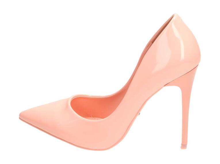 839eec9305c707 Różowe szpilki damskie, czółenka VICES E396-20