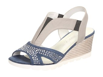 Niebieskie sandały damskie M.DASZYŃSKI SA78-10 12db2b8b0f