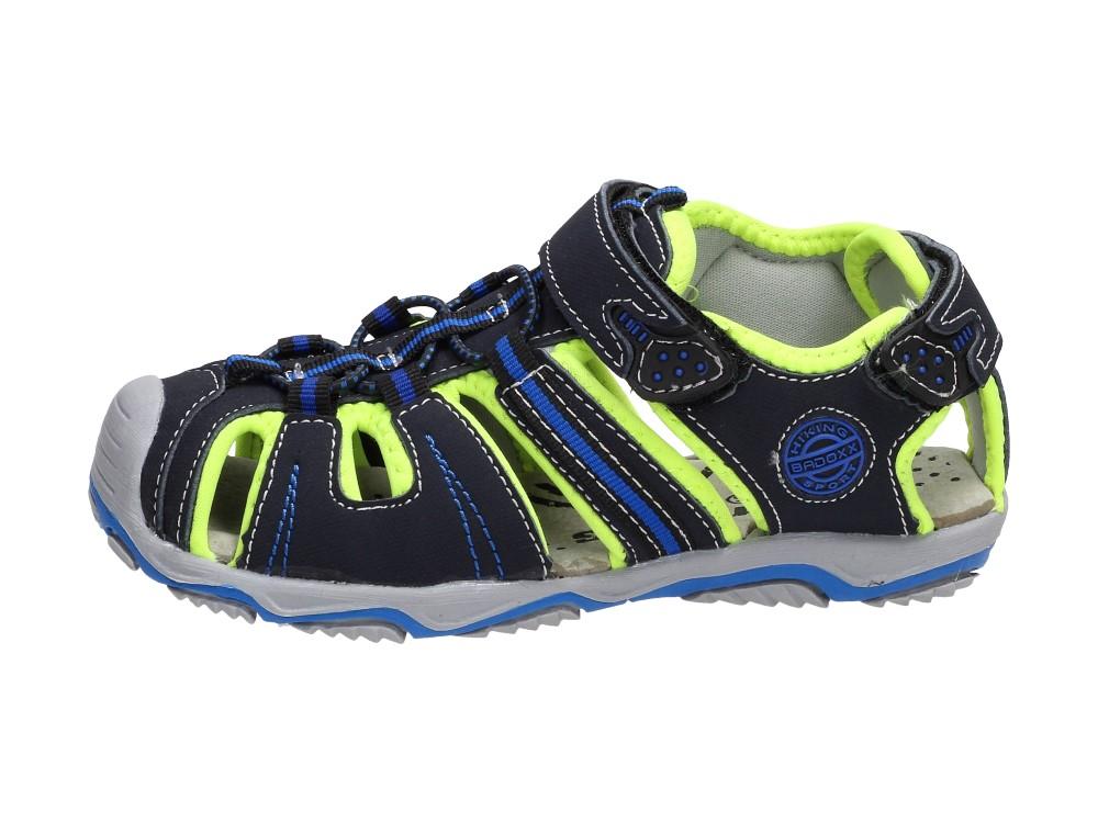 Granatowe sandałki dziecięce BADOXX 5sd9074