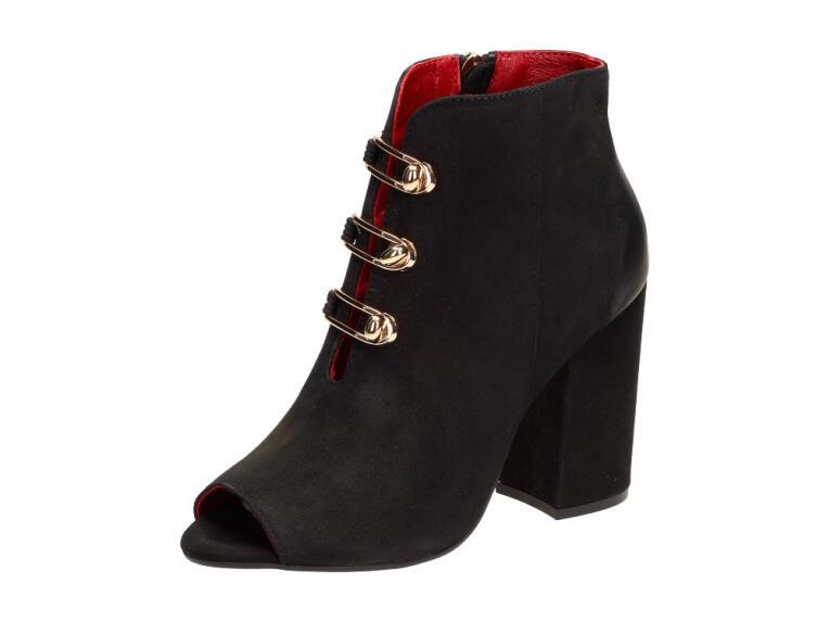 ae60f642 POLSKIE botki, sandały damskie CARINII 4236 BK
