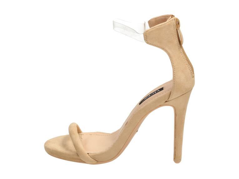 3ac052a71a3a15 Beżowe sandały, szpilki damskie VICES 5075-14