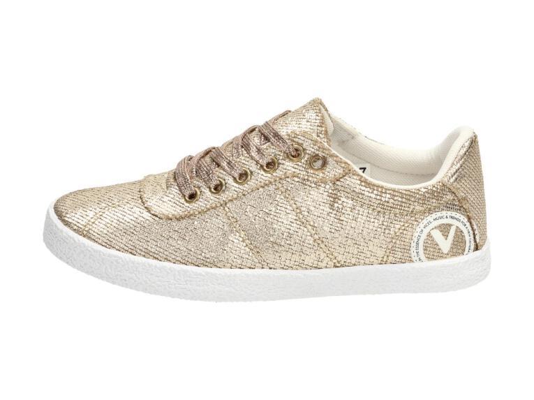 Złote trampki damskie buty VICES KA7 37