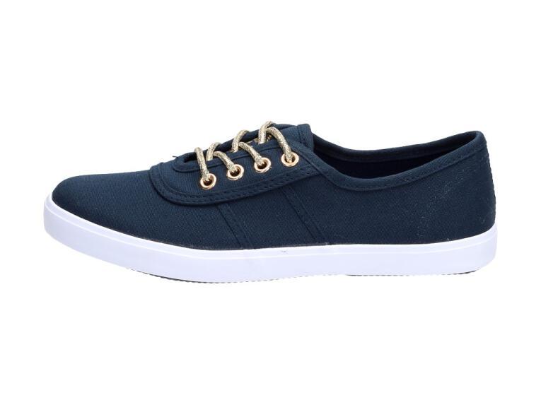 Granatowe tenisówki damskie buty McArthur IT07