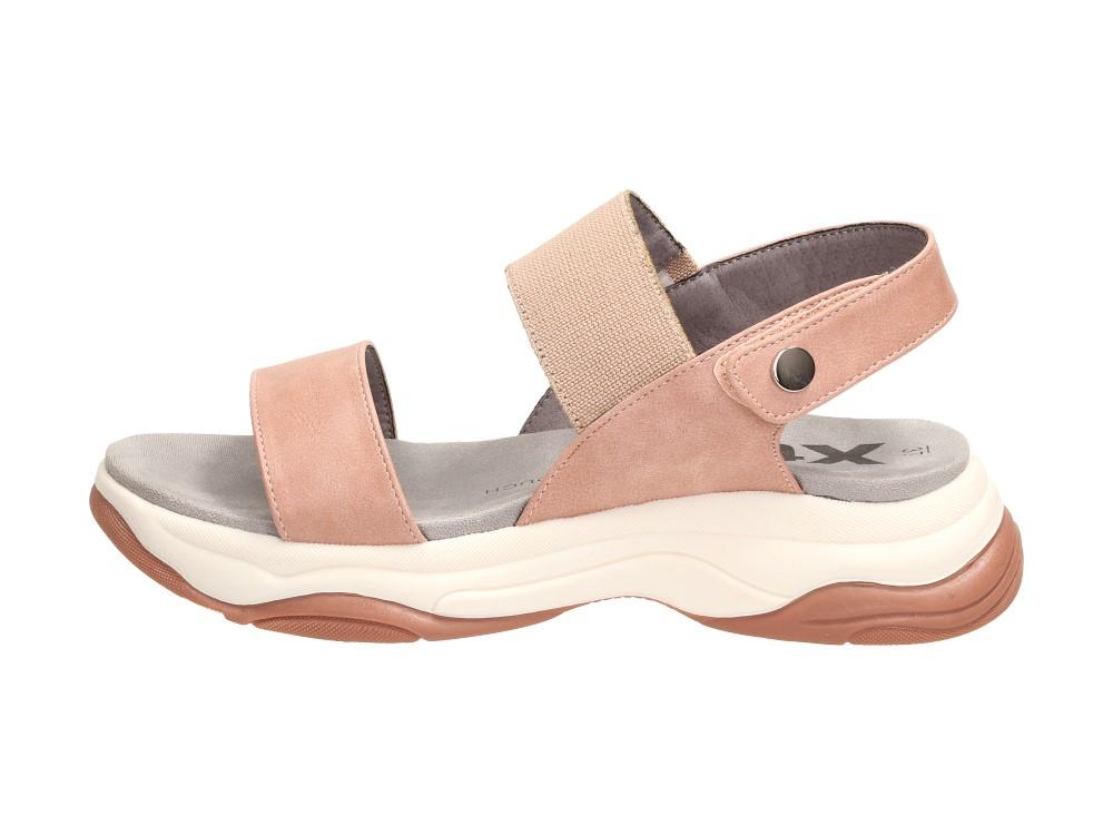 Różowe sportowe sandały damskie XTI 49832
