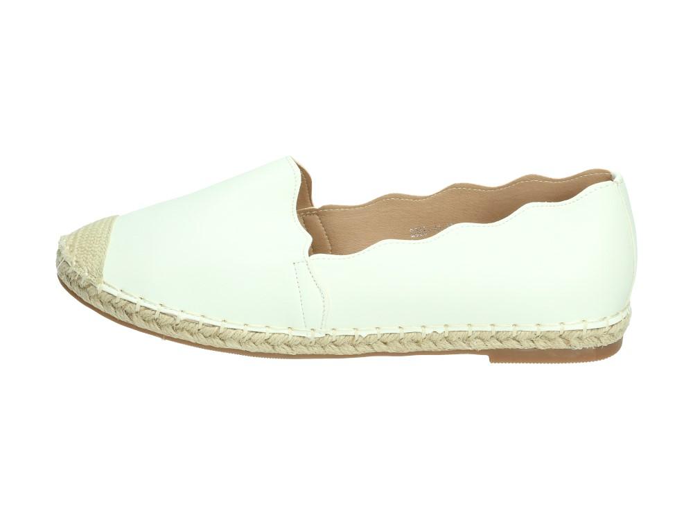 Białe espadryle, buty damskie VICES 2068-41 Vices