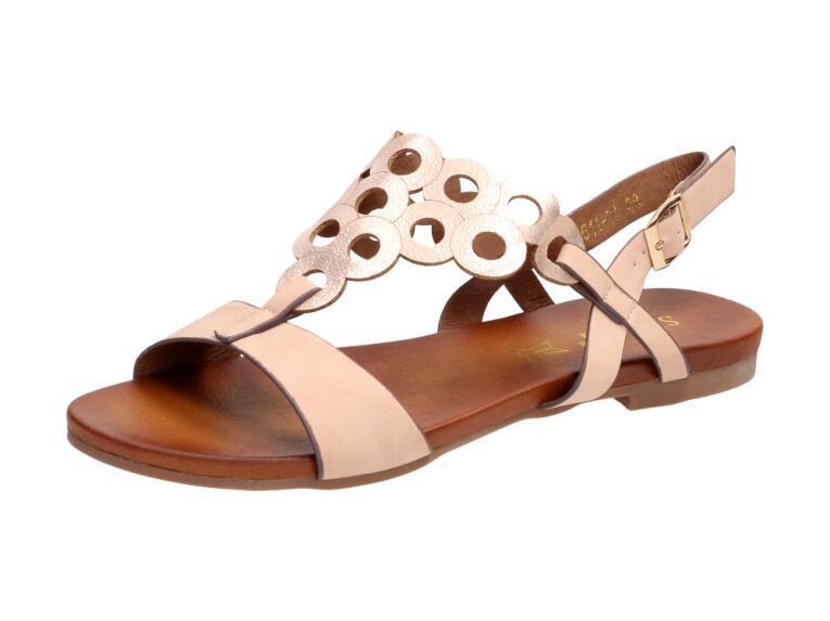 5c532296 Różowe sandały damskie S.BARSKI 541-97