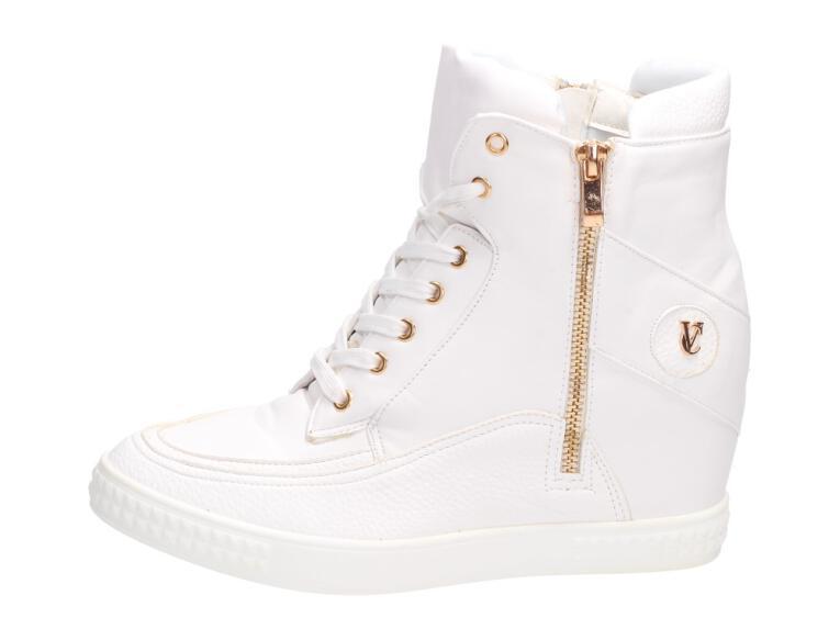 44914182a01bb Białe sneakersy, buty damskie VICES 1126-41