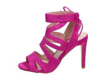497cafedf3380 Fioletowe sandały damskie szpilki SABATINA 115