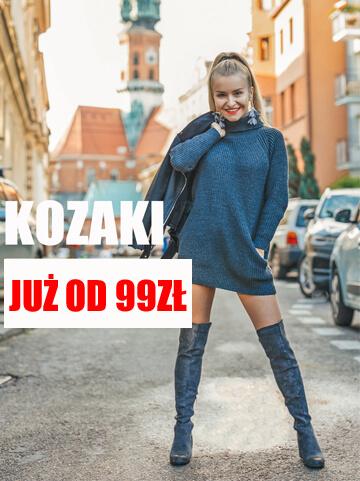 Bordowe kozaki damskie VINCEZA 16105 SŁUPEK